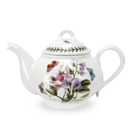 Portmeirion Botanic Garden Romantic Shape 2 Pint Teapot -