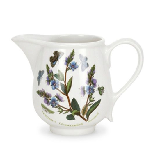 Portmeirion Botanic Garden Cream Jug - Romantic Shape