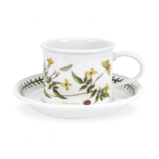 Portmeirion Botanic Garden Drum Shape Teacup & Saucer