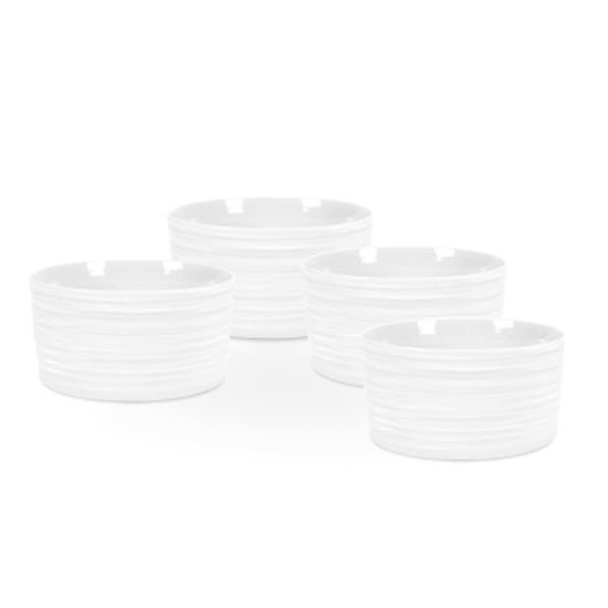 Portmeirion Sophie Conran for Portmeirion Set of 4 Small White Ramekins