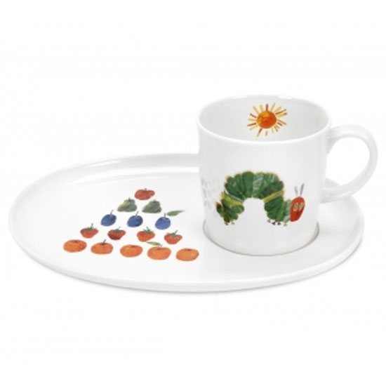 Portmeirion The Very Hungry Caterpillar Mug & Snack Plate