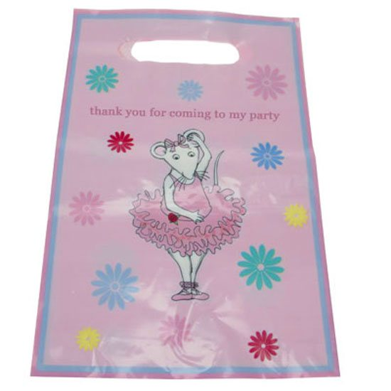 10 Angelina Ballerina Party Bags / Loot Bags