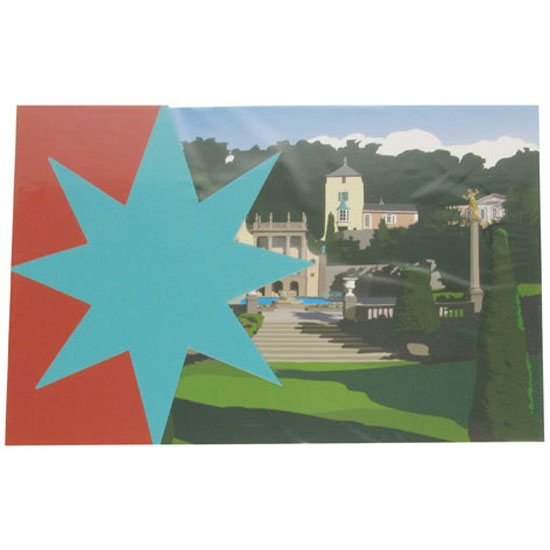 Portmeirion Cymru Portmeirion Greeting / Occasion Card & Envelope: Gloriette
