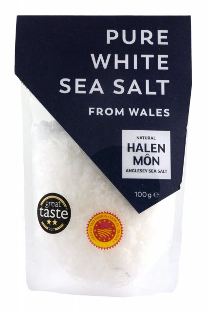 Halen Mon Halen Mon Finer Flake Pure White Sea Salt (100g)