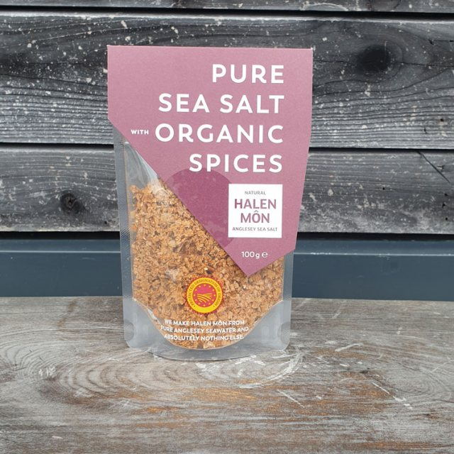 Halen Mon Halen Mon Pure Sea Salt with Organic Spices (100g)