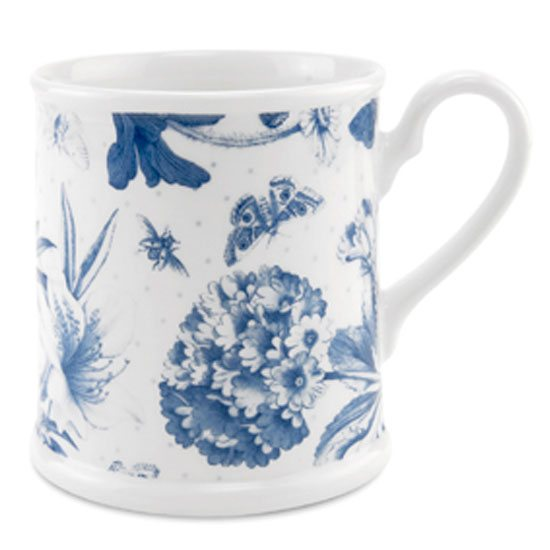 Portmeirion BO Mug/Tankard Single Botanic Blue