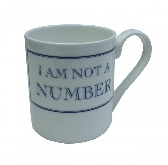 The Prisoner The Prisoner Fine Bone China Mug: I Am Not a Number