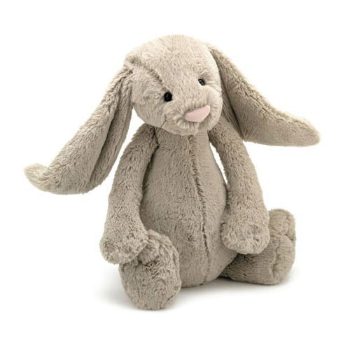 Jellycat Soft Toys Jellycat Bashful Beige Bunny Soft Toy