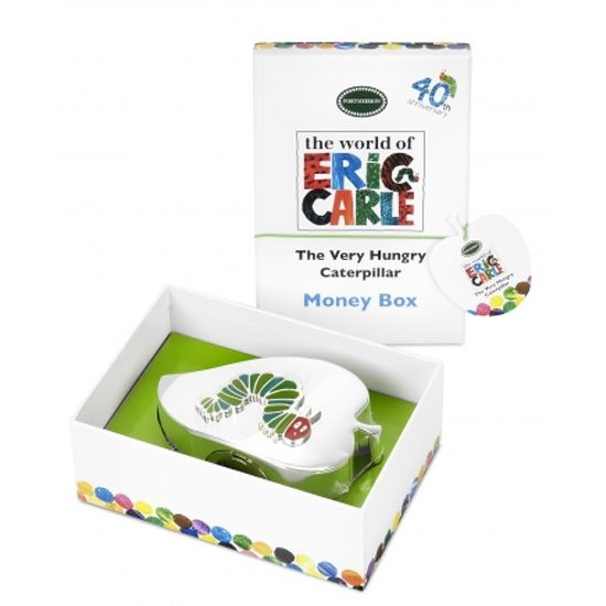 Portmeirion The Very Hungry Caterpillar Silver Plated Money Box