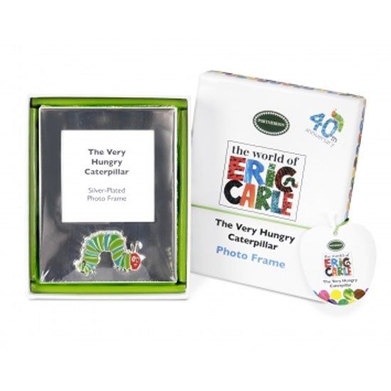Portmeirion The Very Hungry Caterpillar Silver Plated Photo Fr