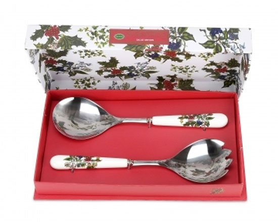 Portmeirion The Holly & The Ivy Salad Servers (Set of 2)