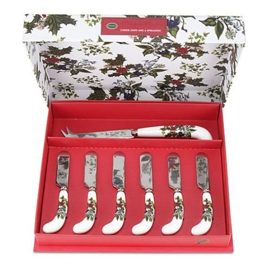 Portmeirion The Holly & The Ivy Cheese Knife and Spreaders