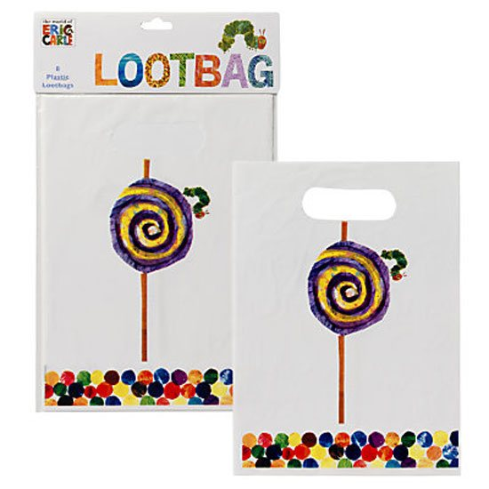 The Very Hungry Caterpillar The Very Hungry Caterpillar Pack of 8 Party Bags