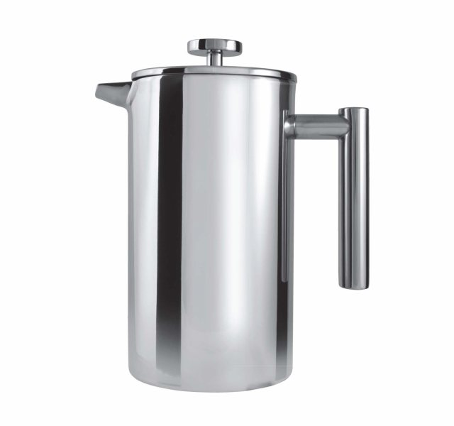 Grunwerg Double Wall Stainless Steel Cafetiere