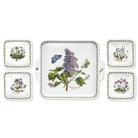 Portmeirion Botanic Garden 5 Piece Accent Bowl Set