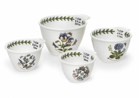 Portmeirion Botanic Garden Measuring Cups - Set of 4