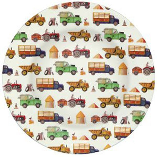 Emma Bridgewater Emma Bridgewater Men at Work Melamine Plate