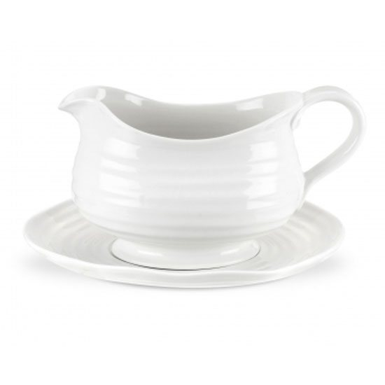 Sophie Conran for Portmeirion Sophie Conran for Portmeirion White Gravy Boat & Stand