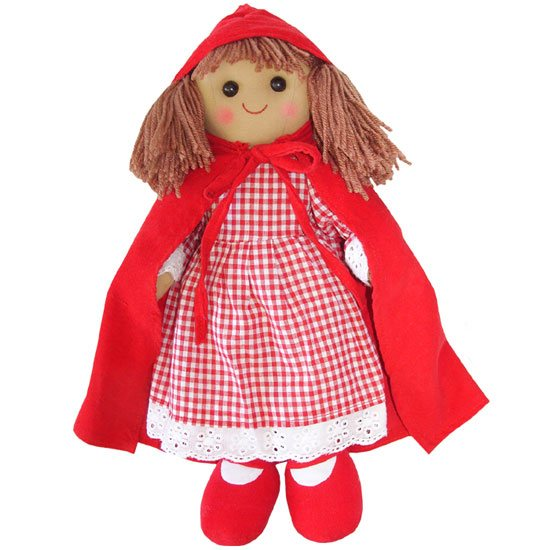 Powell Craft Red Riding Hood Rag Doll