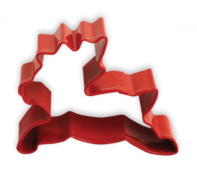 Red Reindeer Cutter - Christmas Pastry & Biscuit Cutter