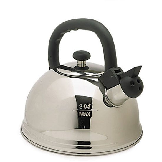 KitchenCraft Le'Xpress Stainless Steel 2 Litre Whistling Kettle