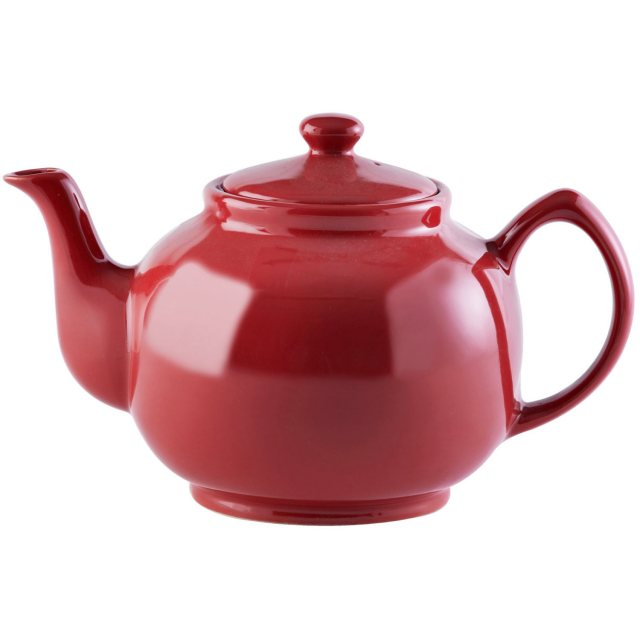 Price & Kensington Brights Red 10 Cup Teapot