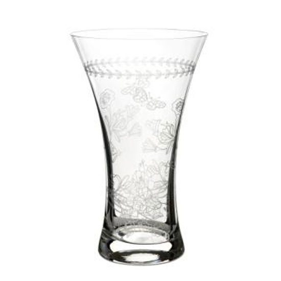 Portmeirion Botanic Garden Medium Crystal Glass Vase