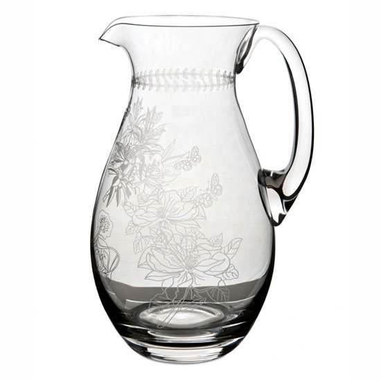 Portmeirion Botanic Garden Crystal Glass Pitcher
