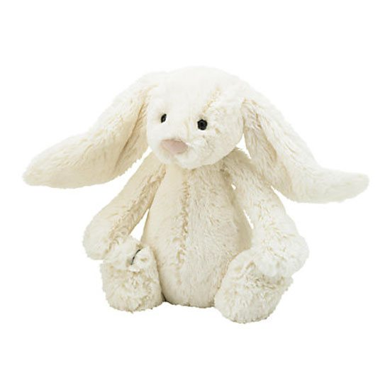 Jellycat Soft Toys Jellycat Medium Bashful Cream Bunny