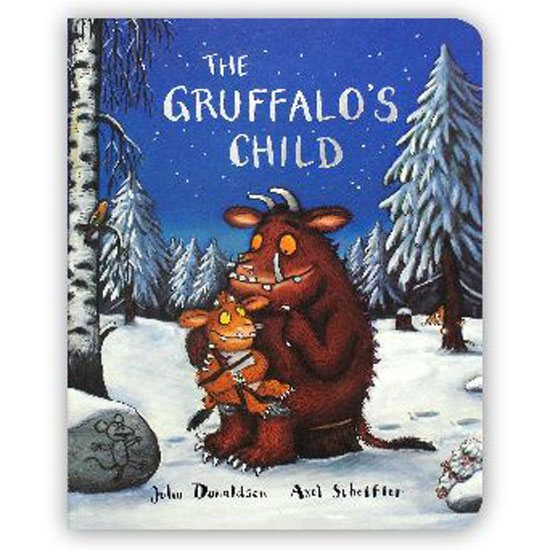 The Gruffalo The Gruffalo's Child Board Book