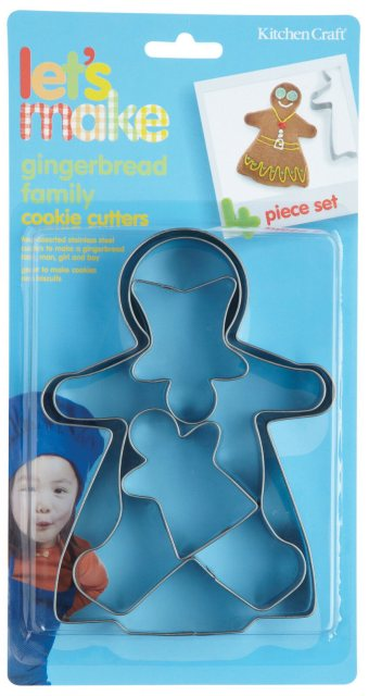 Lets Make S/S Gingerbread Cookie Cutters