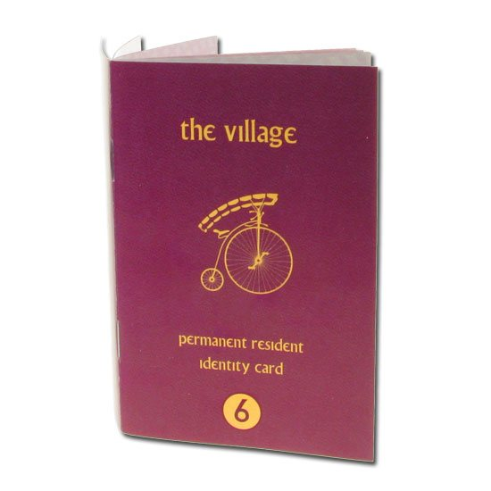 The Prisoner The Prisoner Passport Notebook