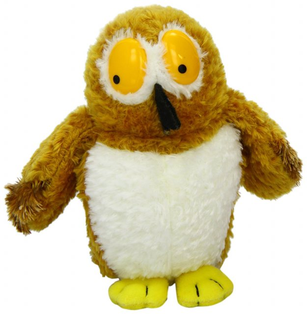 The Gruffalo The Gruffalo 7 Inch Owl Plush Toy