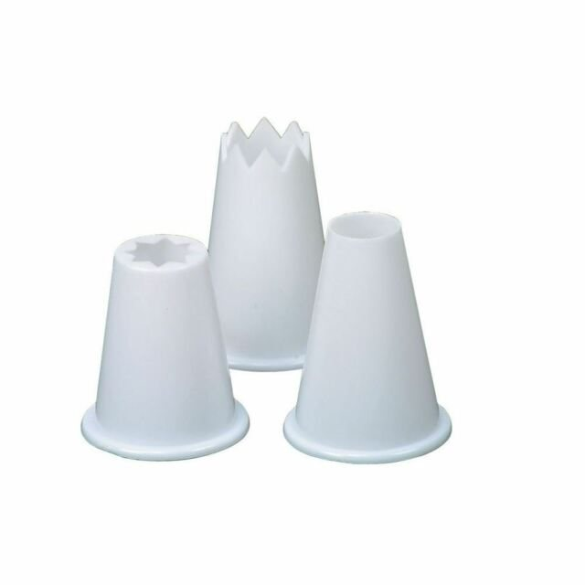 Food Piping Nozzles Set of 3