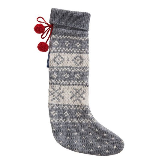 Lexington Lexington Holiday Christmas Stocking - Grey