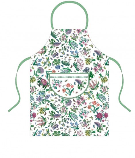 Portmeirion Botanic Garden Chintz Apron (Cotton Drill)