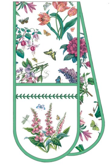 Portmeirion Botanic Garden Chintz Oven Gloves