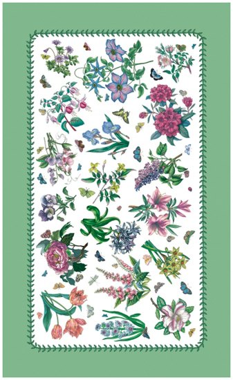 Portmeirion Botanic Garden Tea Towel Chintz