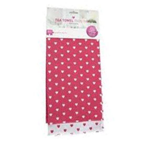 Breast Cancer Campaign Tea Towels Twin Pack