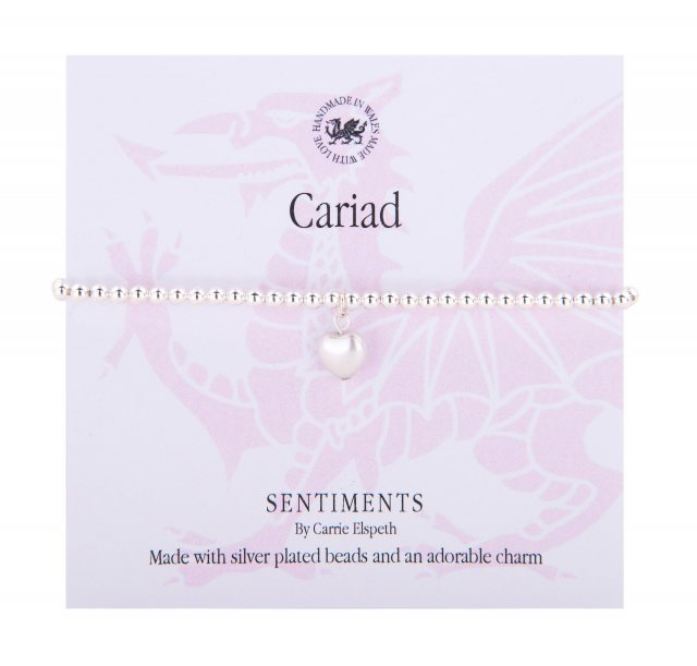 Carrie Elspeth Carrie Elspeth Cariad Welsh Sentiment Bracelet