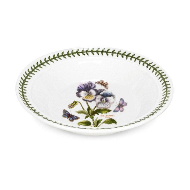 "Portmeirion Botanic Garden Seconds 8"" Soup Plate Single No Guarantee of Flower Design"