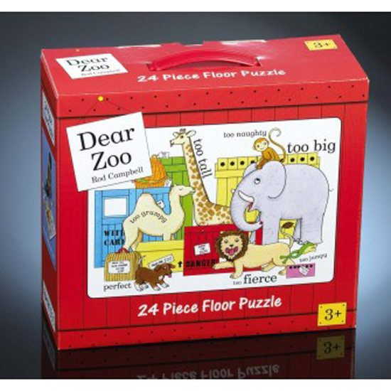 Dear Zoo Dear Zoo 24 piece Floor Puzzle
