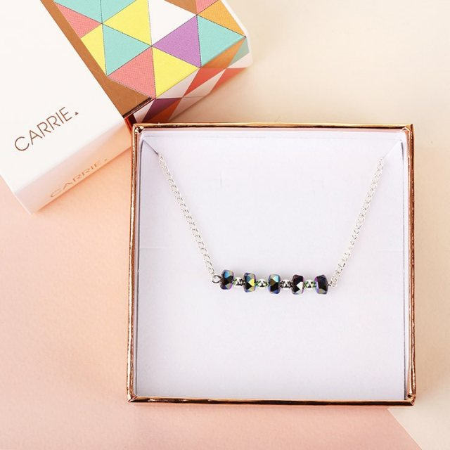 Carrie Elspeth Carrie Elspeth Chrome Allure Necklace