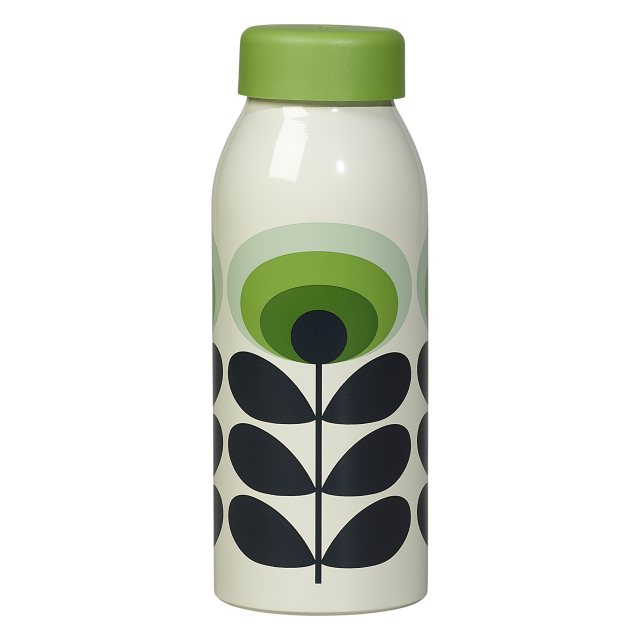 Orla Kiely Orla Kiely 70s Flower Oval Insulated Bottle