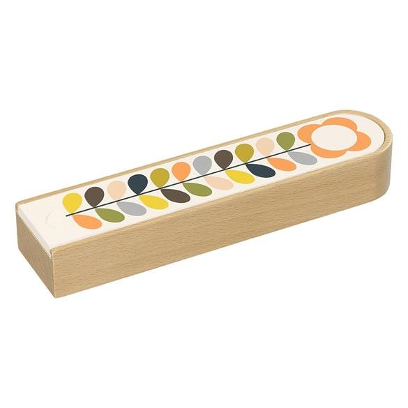 Orla Kiely Orla Kiely Wooden Pencil Box