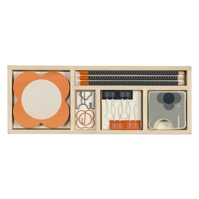 Orla Kiely Orla Kiely Wooden Office Set