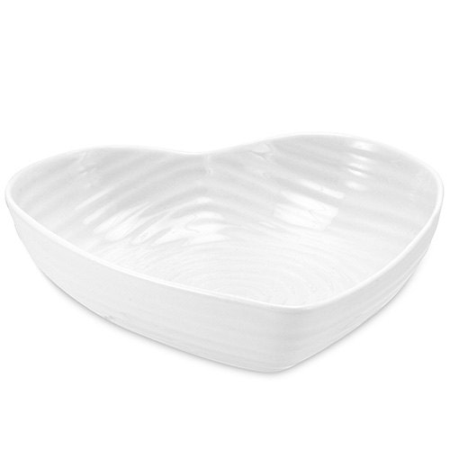 Portmeirion Sophie Conran White Large Heart Bowl