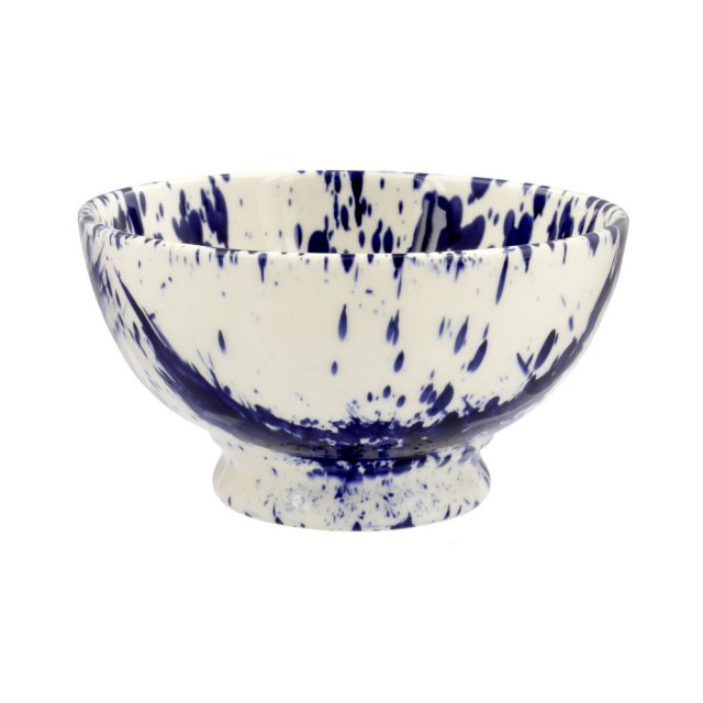 Emma Bridgewater Emma Bridgewater Blue Splatter French Bowl