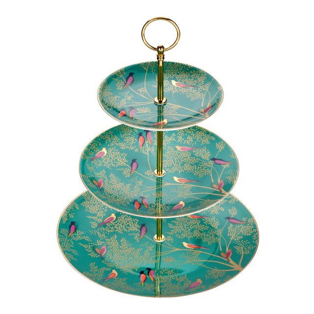 Sara Miller London Sara Miller Chelsea Collection 3 Tier Cake Stand