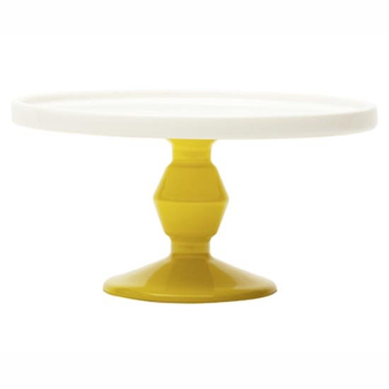 Cake Stand Mini Yellow